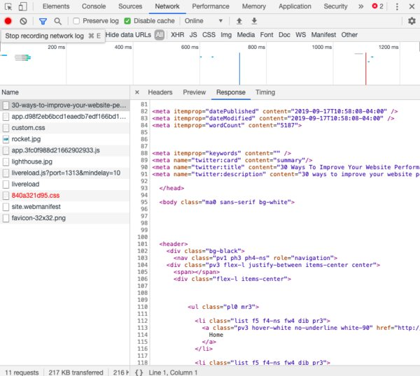 Compress HTML