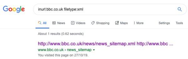 BBC Google Search