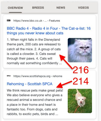 Cats Search Results